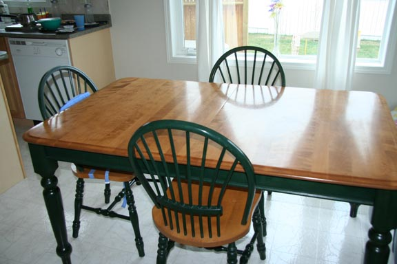 Delightful Maple Dining Table